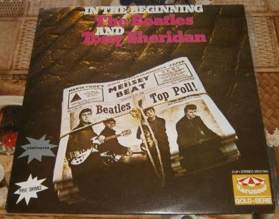 LP-The Beatles and Tony Sheridan - In the Beginning (2LP) / Perf.stav!