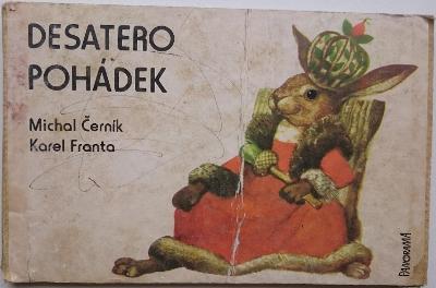 Desatero pohádek, RETRO LEPORELO, 1.vyd.
