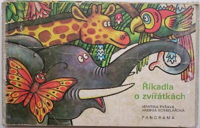 Říkadla o zvířátkách, RETRO LEPORELO, 1.vyd.