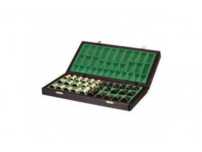 Velké magnetické dřevěné šachy - krásný rádek k Vánocům
