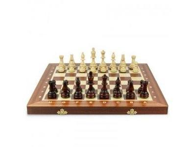 Vánoční dárek - Dřevěné šachy - velikost - 53cm x53 cm - moc krásné