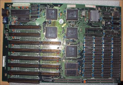 Historická základní deska Intel 80286 vč RAM