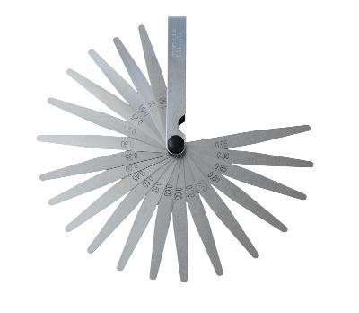 Měřící nástroj na měření tloušťky mezery, Spárové měrky 0,05-1 G02739