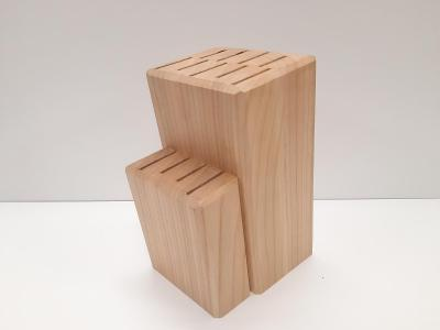 Dřevěný blok na kuchyňské nože, ruční práce truhláře, dřevo TŘEŠEŇ !