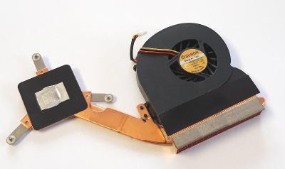 Chlazení 36ZL5TATN01 + ventilátor B0506PGV1-8A z Acer Aspire 3002LC