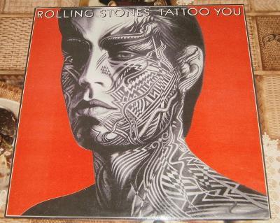 LP - Rolling Stones - Tattoo You (India 1981) / Perfektní stav!