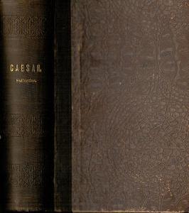 Caesaris: Belli Gallici I., II., III. heft, De bello civili, 1890