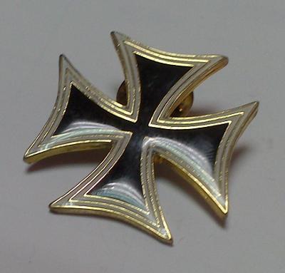 Kovový odznak Maltézský kříž