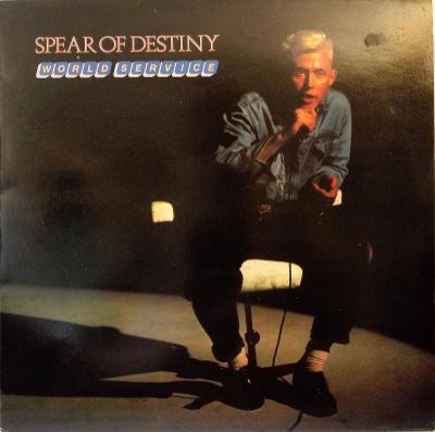 LP Spear Of Destiny - World Service, 1985 EX