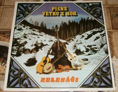 LP - Písně větru z hor (Panton 1974) / Luxusní stav!