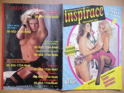 Erotický časopis - INSPIRACE - číslo 7 z roku 1994