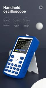 FNIRSI-1C15 Profesionální digitální osciloskop 110 Mhz MODRÝ