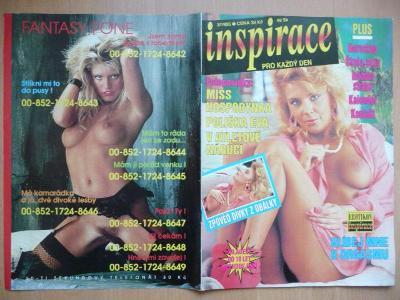 Erotický časopis - INSPIRACE - číslo 3 z roku 1995