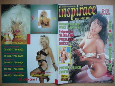 Erotický časopis - INSPIRACE - číslo 4 z roku 1995