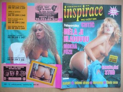 Erotický časopis - INSPIRACE - číslo 5 z roku 1995