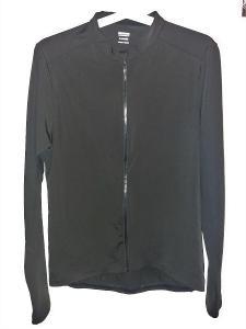 Nový zateplený cyklistický dres - černý