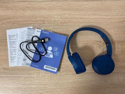 Sluchátka Sony MDR-ZX220BT  (modré)