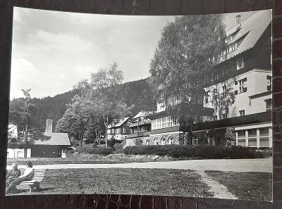 Klatovy Šumava Železná Ruda Špičák ubytovací zařízení exteriér