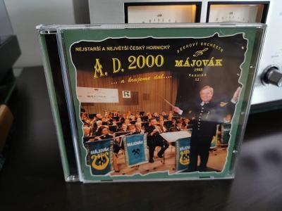 CD nosič Májovák - A.D. 2000