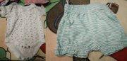12 ks pro holku vel.62 - Oblečení