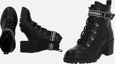 Šněrovací boty na podpatku FRITZI AUS PREUSSEN vel. 38