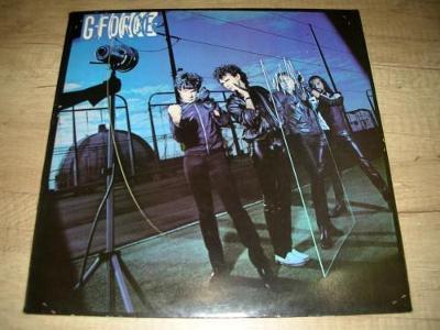 G-Force- GARY MOORE (1980) UK 1.Press , TOP STAV!!!