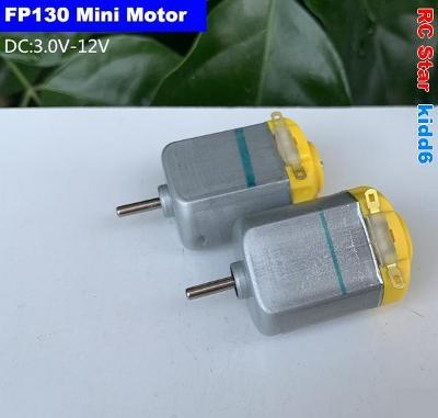 DC Mini Motor FP130 High Speed DC 3-12V / RPM 4100-19500 ot.min