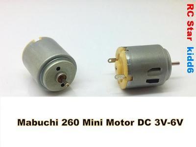 Mabuchi 260 Mini Motor DC 3V - 6V