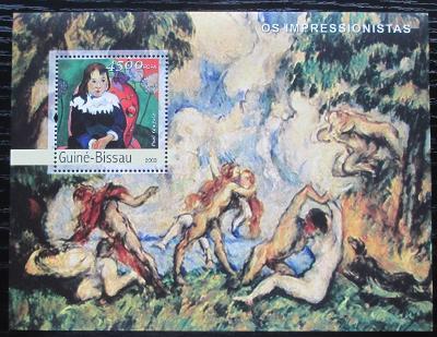 Guinea-Bissau 2003 Umění, Paul Gauguin Mi# Block 416 Kat 12€ 2151