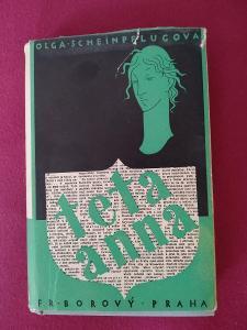 Teta Anna, autor Scheinpflugová, Olga  Nakladatel: Fr. Borový
