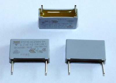 Elektronické součástky kondenzátor 4,7nF 250V Vishay - sada 5ks
