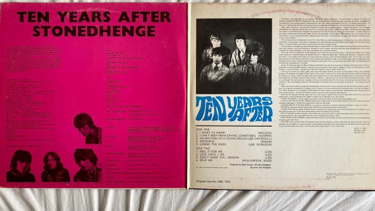 Ten Years After – Stonedhenge / Ten Years After - 2 x LP vinyl - Hudba