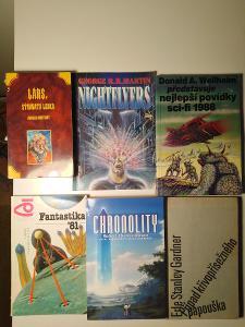 7 knih Scifi