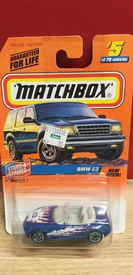 MATCHBOX 1998 ´´ BMW Z3 ´´ #5 - Modelářství