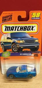 MATCHBOX 1998 ´´ 97 CHEVROLET CORVETTE ´´ #58