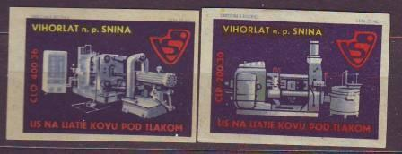 Slovenské ZN po r.1945 k.č. 1136, 1138