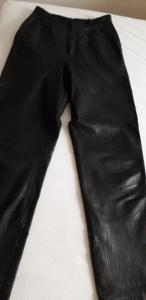 Kožené dámské kalhoty vel. 36