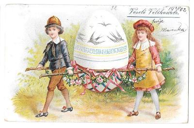Pohlednice, přání Veselé Velikonoce