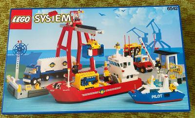 Lego 6542 System/City, Velké nákladní přístaviště z 90 let Nové