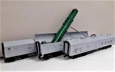 TT-MODEL 8901 Bojový železniční raketový systém SZD Ep.IV / TT 1:120