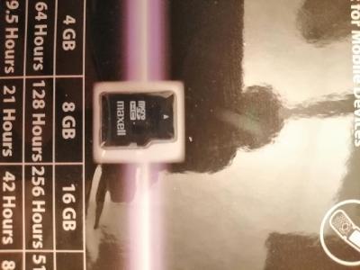 maxell X-series microSDHC 4GB