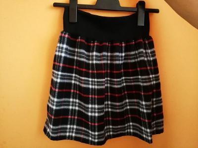 Šitá sukně - kostka