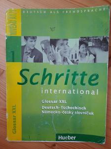 Schritte International 1 německo-český slovníček