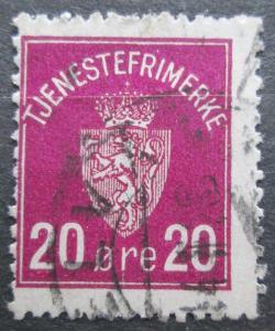 Norsko 1926 Státní znak, doplatní Mi# 4 2155