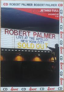 Robert Palmer - Live At The Apollo New York City CD