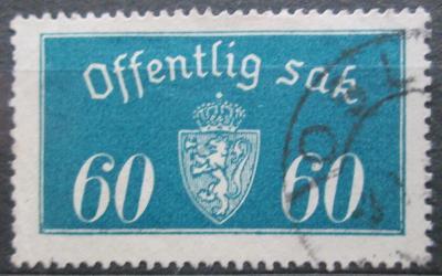 Norsko 1935 Státní znak, úřední Mi# 19 II 2155