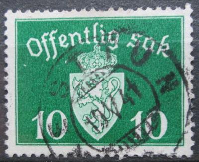 Norsko 1937 Státní znak, úřední Mi# 24 2155
