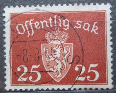 Norsko 1938 Státní znak, úřední Mi# 27 2155