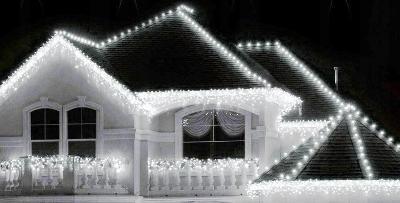 VÁNOČNÍ OSVĚTLENÍ 200 LED  ZÁVĚS RAMPOUCHY