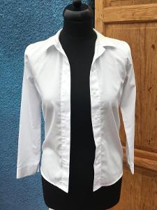 Dětská bílá košile dlouhý rukáv
